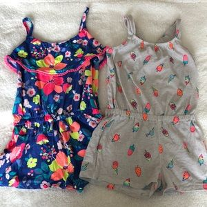 Bundle 2 rompers